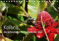 Kolibris, die schnellsten Wirbeltiere der Welt (Tischkalender 2019 DIN A5 quer) von M.Polok