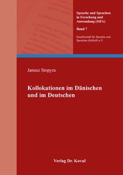 Kollokationen im Dänischen und im Deutschen von Stopyra,  Janusz