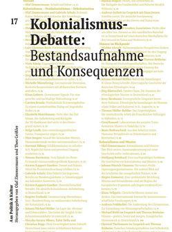 Kolonialismus-Debatte: Bestandsaufnahme und Konsequenzen von Schulz,  Gabriele, Zimmermann,  Olaf