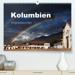 Kolumbien Impressionen (Premium, hochwertiger DIN A2 Wandkalender 2021, Kunstdruck in Hochglanz) von boeTtchEr,  U
