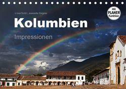 Kolumbien Impressionen (Tischkalender 2019 DIN A5 quer) von boeTtchEr,  U, Piegeler,  Jeannette