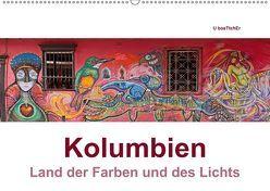 Kolumbien – Land der Farben und des Lichts (Wandkalender 2019 DIN A2 quer) von boeTtchEr,  U, www.kolumbien-impressionen.de