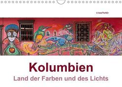 Kolumbien – Land der Farben und des Lichts (Wandkalender 2019 DIN A4 quer) von boeTtchEr,  U, www.kolumbien-impressionen.de