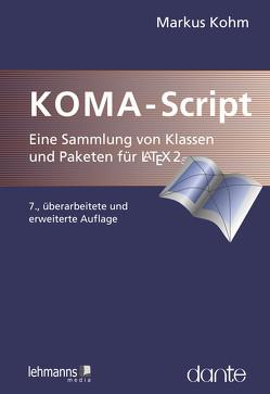 KOMA-Script von Kohm,  Markus