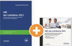 Kombi: ABC des Lohnbüros 2021 (Print+DVD) von Besgen,  Dietmar, Mader,  Klaus, Perach,  Detlef, Voß,  Rainer
