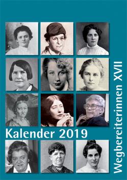 """Kombi aus """"Kalender 2019 Wegbereiterinnen XVII"""" (ISBN 9783945959299) und """"Postkartenset Wegbereiterinnen XVII"""" (ISBN 9783945959305) von Notz,  Gisela"""