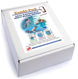 Kombi-Pack 1: Wassergewöhnung, Tauchen & Spiele, laminiert von Aretz,  Veronika