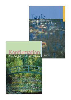 Kombi-Paket Begleit-Hefte Taufe & Konfirmation von Dalferth,  Winfried, Gruber-Dürr,  Sabine, Häcker,  Hartmut, Kraft,  Gerhard, Maier,  Philippus, Ruhl,  Gerhard, Schnaitmann,  Monika, Teich,  Volker