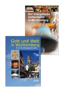 Kombi-Paket: Gott und Welt in Württemberg; Der evangelische Gottesdienst in Württemberg von Dalferth,  Winfried, Ehmer,  Hermann, Frommer,  Heinrich, Jooss,  Rainer, Teich,  Volker, Thierfelder,  Jörg