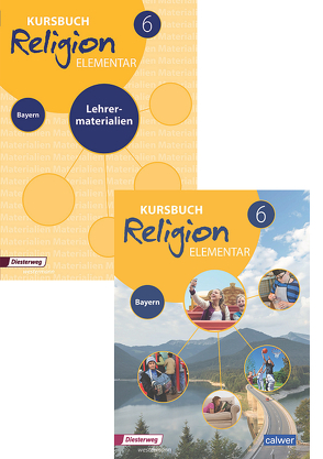 Kombi-Paket: Kursbuch Religion Elementar 6 – Ausgabe für Bayern von Eilerts,  Wolfram, Kübler,  Heinz-Günter