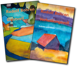Kombi-Paket: Verheißungsvoll und Geistvoll von Bohren,  Rudolf, Landau,  Rudolf