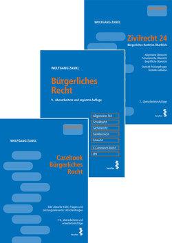 Kombipaket Casebook Bürgerliches Recht, Bürgerliches Recht und Zivilrecht 24 von Zankl,  Wolfgang