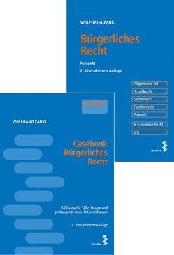 Kombipaket Casebook Bürgerliches Recht und Bürgerliches Recht – Kompakt von Zankl,  Wolfgang