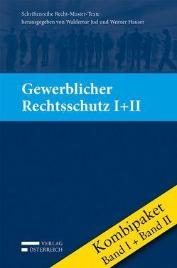 Kombipaket Gewerblicher Rechtsschutz von Grünwald,  Alfons, Horn,  Christian