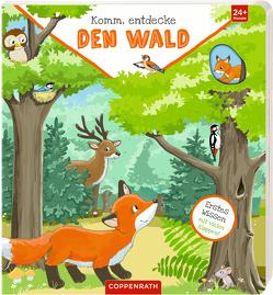 Komm, entdecke den Wald von Flad,  Antje, Heger,  Ann-Katrin