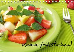 Komm frühstücken! (Tischkalender 2021 DIN A5 quer) von Rau,  Heike