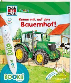 BOOKii WAS IST WAS Junior Komm mit auf den Bauernhof! von Braun,  Tina, Kaiser,  Claudia, Lickleder,  Martin, Voigt,  Silke