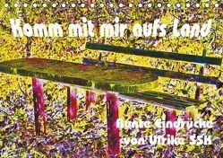 Komm mit mir aufs Land – bunte Eindrücke von Ulrike SSK (Tischkalender 2019 DIN A5 quer) von Schaller-Scholz-Koenen,  Ulrike