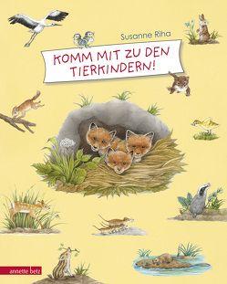 Komm mit zu den Tierkindern! von Riha,  Susanne