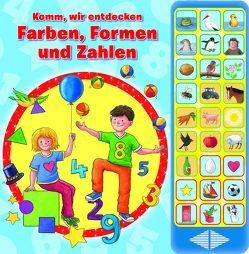 Komm, wir entdecken Farben, Formen und Zahlen – Hardcover-Buch – spielerisch lernen ab 3 Jahren