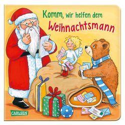 Komm, wir helfen dem Weihnachtsmann von Moser,  Annette, Spanjardt,  Eva