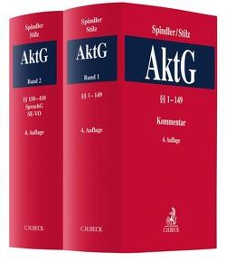 Kommentar zum Aktiengesetz / Aktiengesetz Gesamtwerk von Spindler,  Gerald, Stilz,  Eberhard