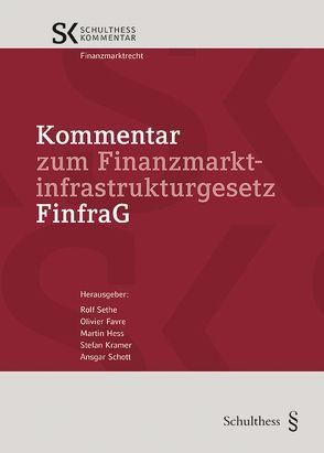 Kommentar zum Finanzmarktinfrastrukturgesetz (FinfraG) von Favre,  Olivier, Hess,  Martin, Krämer,  Stefan, Schott,  Ansgar, Sethe,  Rolf