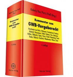 Kommentar zum GWB-Vergaberecht von Kulartz,  Hans-Peter, Kus,  Alexander, Porz,  Norbert, Prieß,  Hans-Joachim