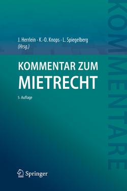 Kommentar zum Mietrecht von Both,  Dirk, Herrlein,  Jürgen, Knops,  Kai-Oliver