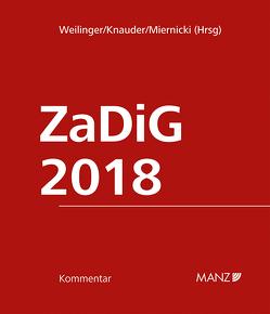 Kommentar zum Zahlungsdienstegesetz ZaDiG 2018 von Knauder,  Christian, Miernicki,  Martin, Weilinger,  Arthur