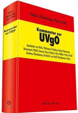 Kommentar zur UVgO von Kulartz,  Hans-Peter, Portz,  Norbert, Prieß,  Hans-Joachim, Röwekamp,  Hendrik