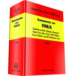 Kommentar zur VOB/A von Kulartz,  Hans-Peter, Marx,  Fridhelm, Portz,  Norbert, Prieß,  Hans-Joachim