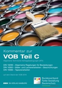 Kommentar zur VOB Teil C, Allgemeine Technische Vertragsbedingungen (ATV) von Gustav A.,  Bauereiß, Heinrich,  Bartholemey, Holger,  Haring, Oliver,  Nicolai