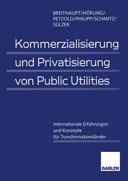 Kommerzialisierung und Privatisierung von Public Utilities von Breithaupt,  Manfred, Höfling,  Horst, Petzold,  Lars, Philipp,  Christine, Schmitz,  Norbert, Sülzer,  Rolf