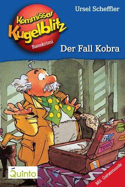 Kommissar Kugelblitz 14. Der Fall Kobra von Gerber,  Hannes, Scheffler,  Ursel