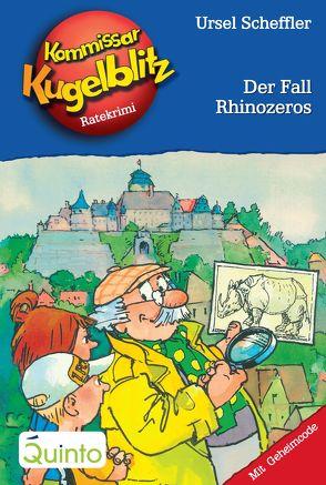 Kommissar Kugelblitz 29. Der Fall Rhinozeros von Gerber,  Hannes, Scheffler,  Ursel