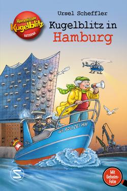 Kommissar Kugelblitz – Kugelblitz in Hamburg von Scheffler,  Ursel, Walther,  Max