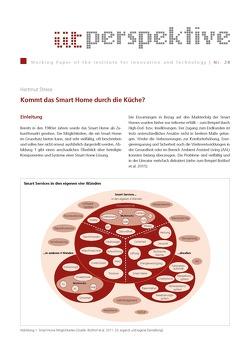 Kommt das Smart Home durch die Küche? von Strese,  Hartmut