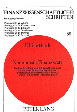 Kommunale Finanzkraft von Hardt,  Ulrike