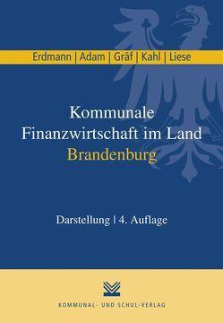 Kommunale Finanzwirtschaft im Land Brandenburg von Adam,  Berit, Erdmann,  Christian, Graef,  Sabine, Kahl,  Matthias, Liese,  Dietmar