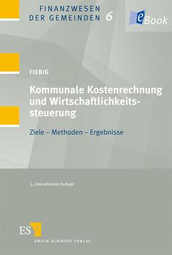 Kommunale Kostenrechnung und Wirtschaftlichkeitssteuerung von Fiebig,  Helmut
