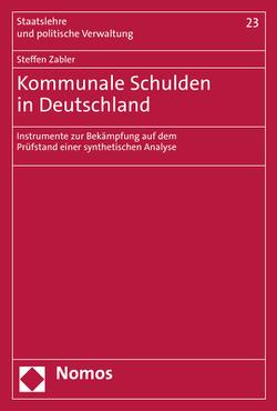 Kommunale Schulden in Deutschland von Zabler,  Steffen