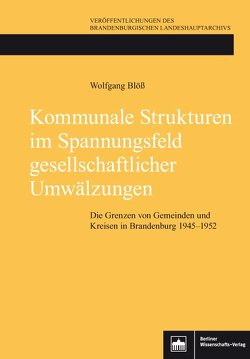 Kommunale Strukturen im Spannungsfeld gesellschaftlicher Umwälzungen von Blöß,  Wolfgang