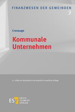 Kommunale Unternehmen von Cronauge,  Ulrich, Pieck,  Stefanie