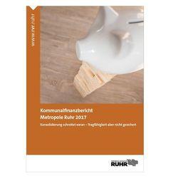 Kommunalfinanzbericht Metropole Ruhr 2017 von Junkernheinrich,  Martin, Micosatt,  Gerhard