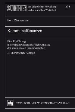 Kommunalfinanzen von Zimmermann,  Horst