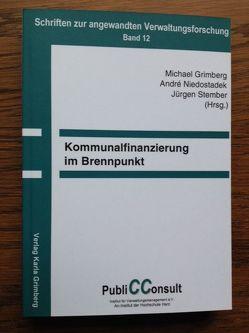 Kommunalfinanzierung im Brennpunkt von Grimberg,  Michael, Niedostadek,  André, Stember,  Jürgen