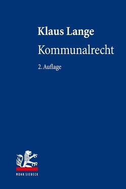 Kommunalrecht von Lange,  Klaus