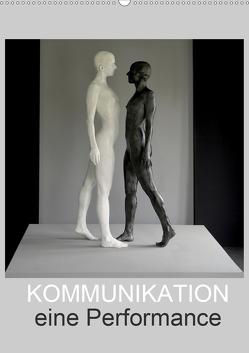 KOMMUNIKATION eine Performance (Wandkalender 2020 DIN A2 hoch) von fru.ch
