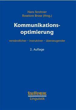 Kommunikationsoptimierung von Brose,  Roselore, Strohner,  Hans